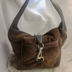 Authentic Brown Dooney Bourke purse handbag